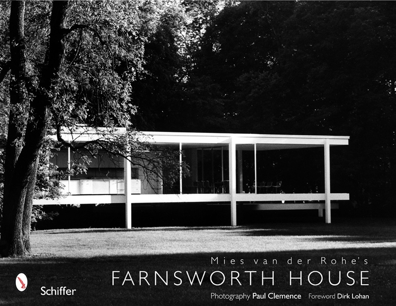 Paul Clemence's photography book on Mies van der Rohe's Farnsworth House. | The Decorating Diva, LLC