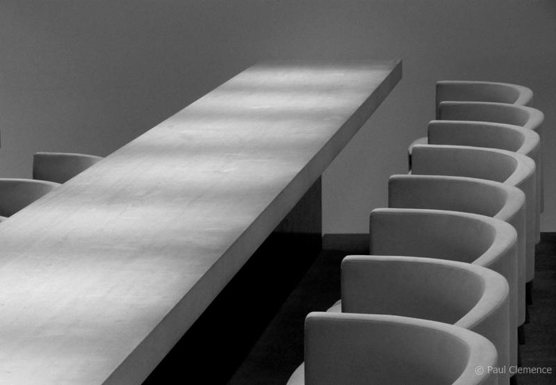 Paul Clemence interior design photography oak cafe hiroshi sugimoto | The Decorating Diva, LLC