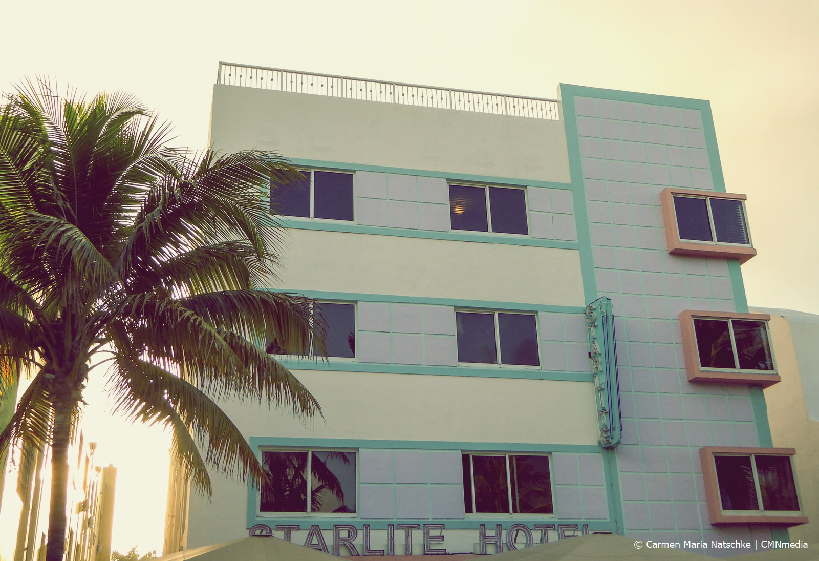 Starlite hotel Art Deco district Miami Beach. | Carmen Maria Natschke CMNmedia/The Decorating Diva. LLC