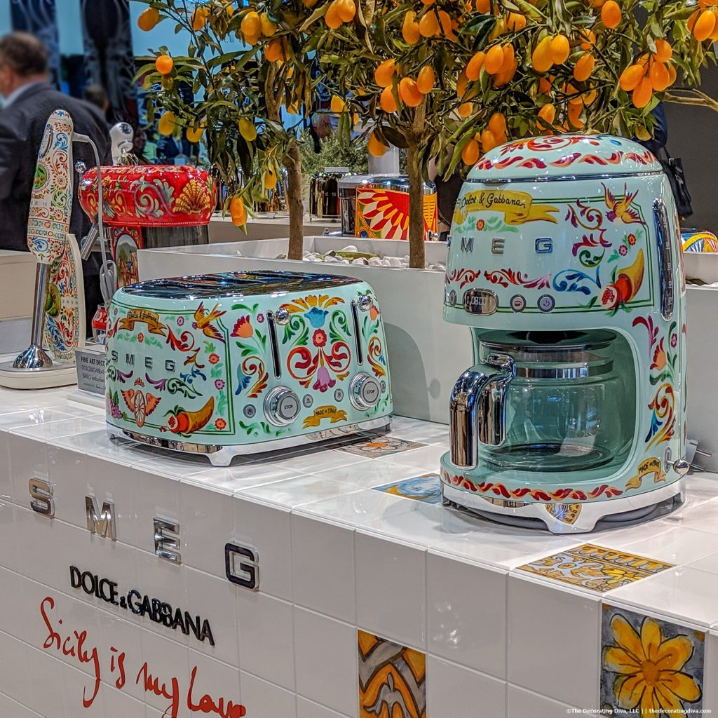 Smeg Kitchen Appliances 2019 Dolce Amp Gabbana Collection