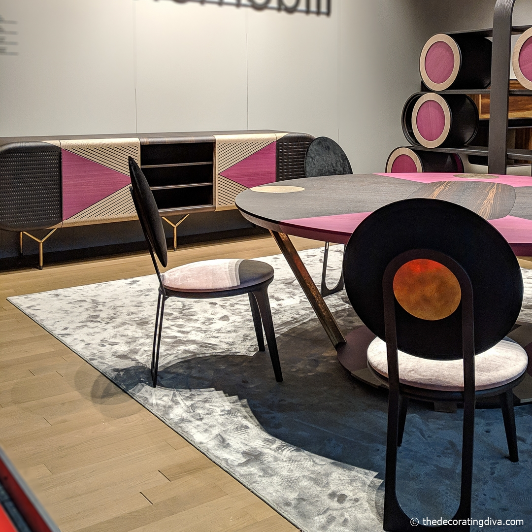 Elena Salmistraro furniture design for Emmemobili